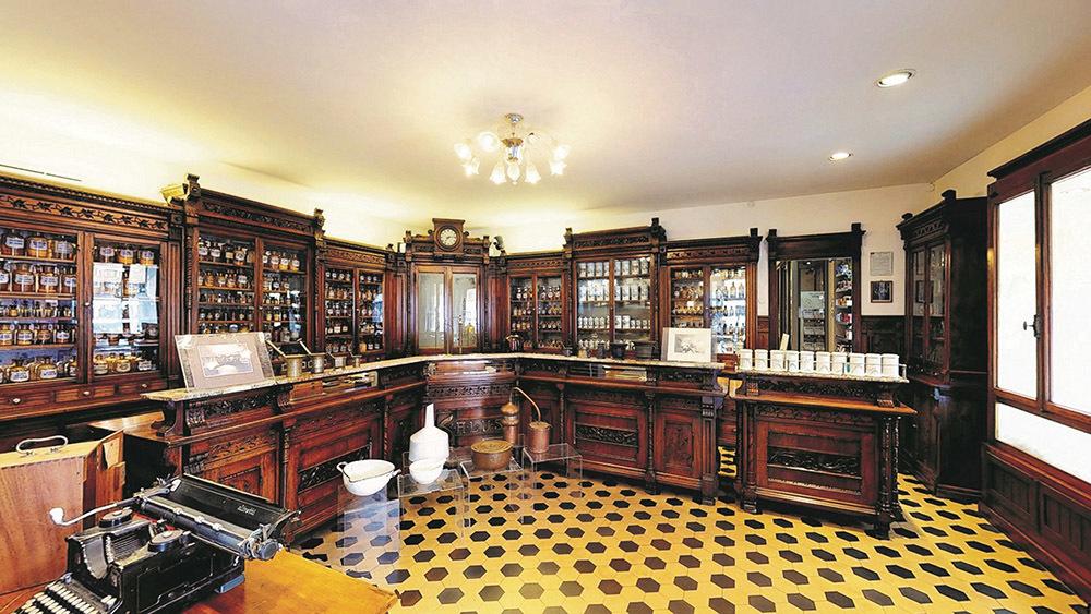 Udine, Museo farmacia storica Antonio Colutta (© Famiglia Colutta)