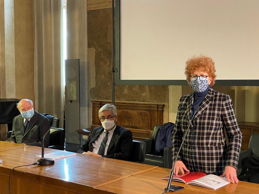Da destra Gibelli, Fontanini e Bergamini (ph. ARC Morandini - Regione FVG)