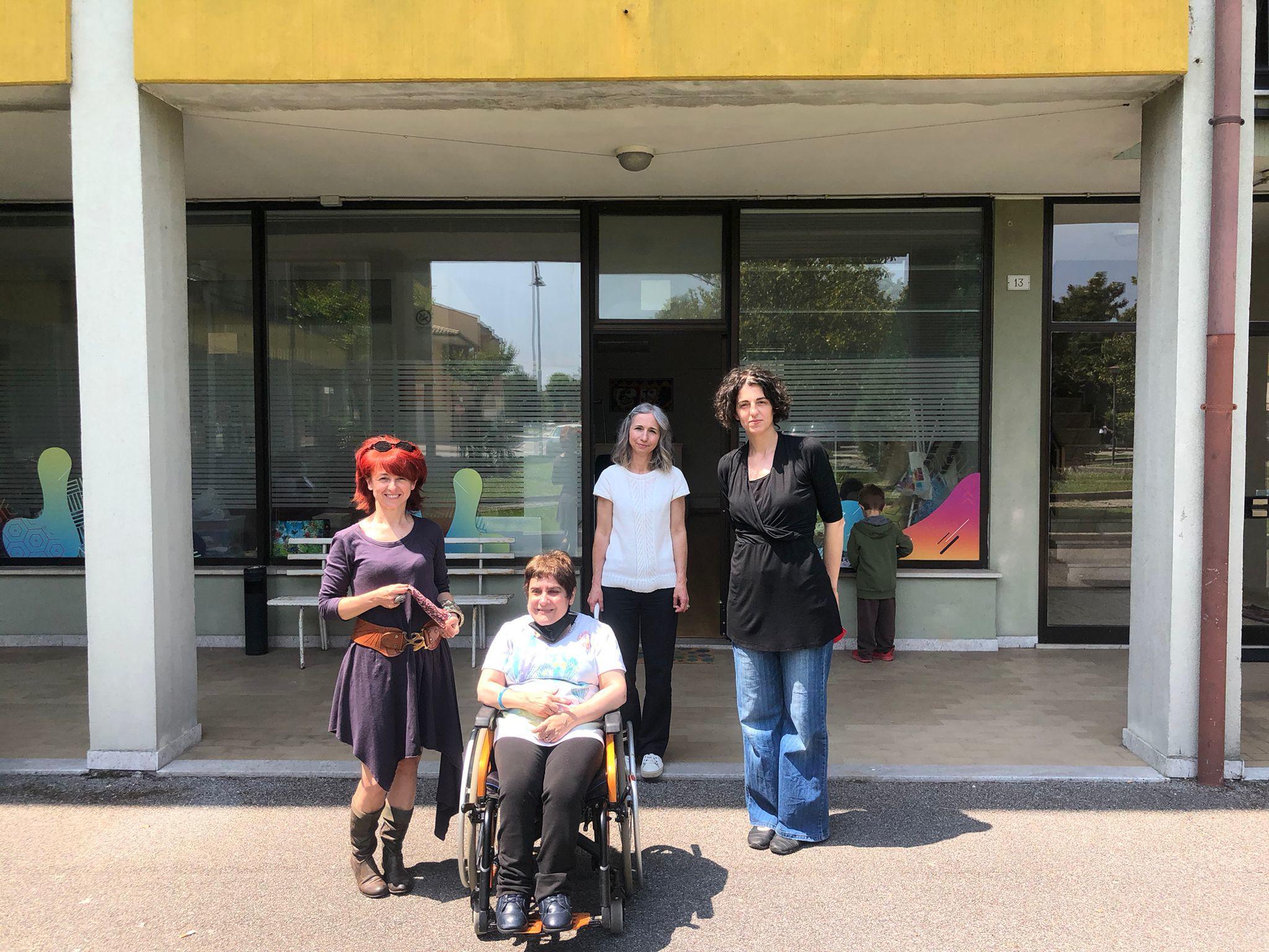 Da sinistra: Laura Cantoni, Emanuela Piccioni, Isabella Pontel e Sara Marson