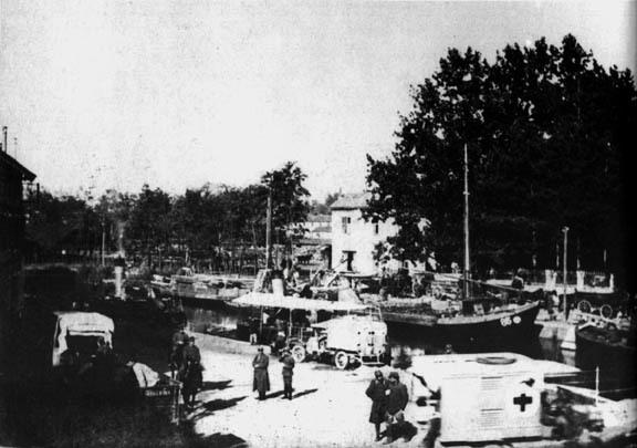 Cervignano: l'Ausa davanti all'eremo di Gabriele D'Annunzio (ph. lagrandeguerra.info)