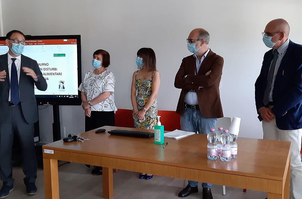 Da sinistra: Joseph Polimeni, Roberta Ruffilli, Monica Corsaro, Riccardo Riccardi e Roberto Lezzi (ph. Regione FVG)