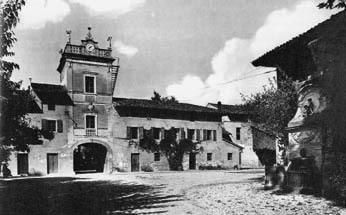 Molin di Ponte in una foto d'epoca
