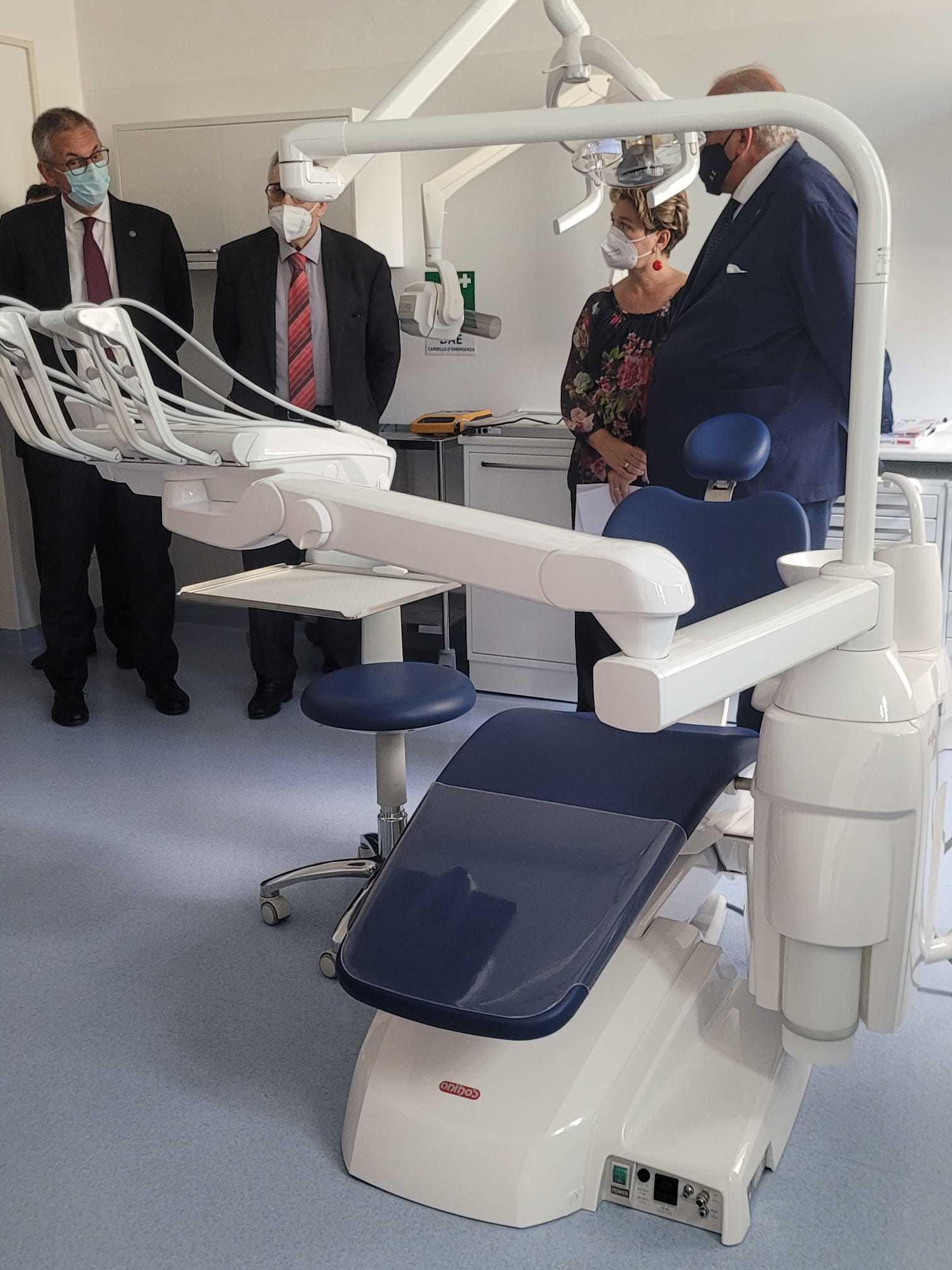 L'inaugurazione del nuovo ambulatorio