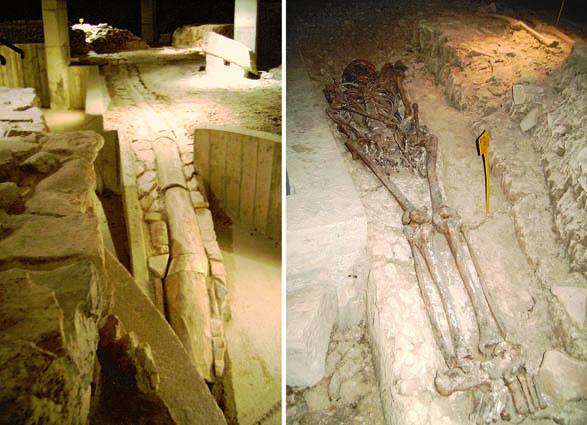 Alcuni ritrovamenti archeologici nella cripta di San Michele Arcangelo a Cervignano