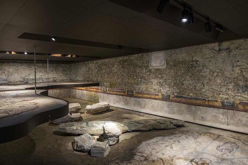 Cripta degli Scavi della Basilica di Aquileia (© G. Baronchelli)
