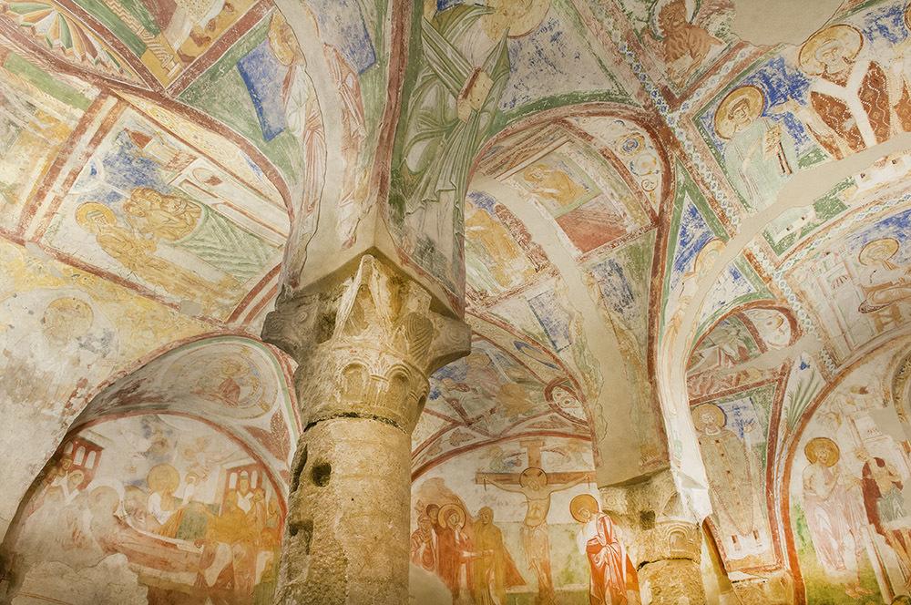 Cripta degli affreschi della Basilica di Aquileia (© G. Baronchelli)