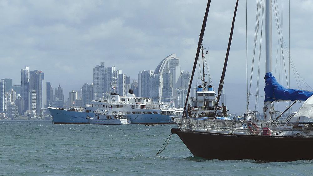 Lo skyline di Panama