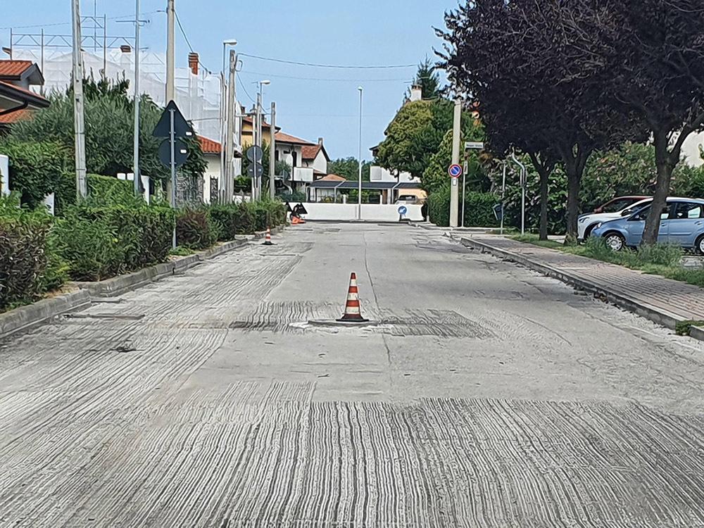 Cantiere a Staranzano
