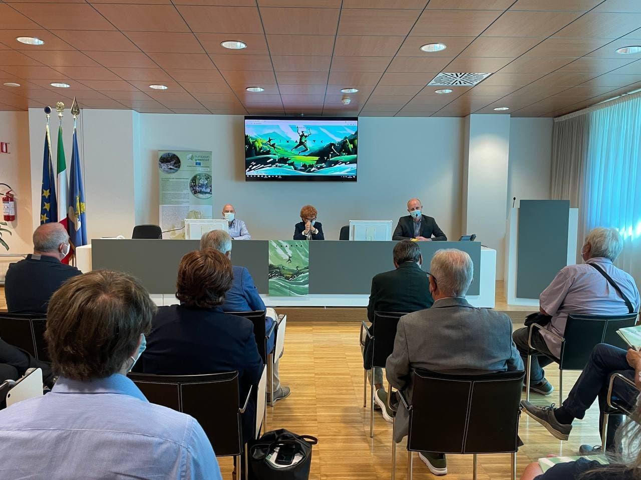 La conferenza stampa di presentazione di Ikarus