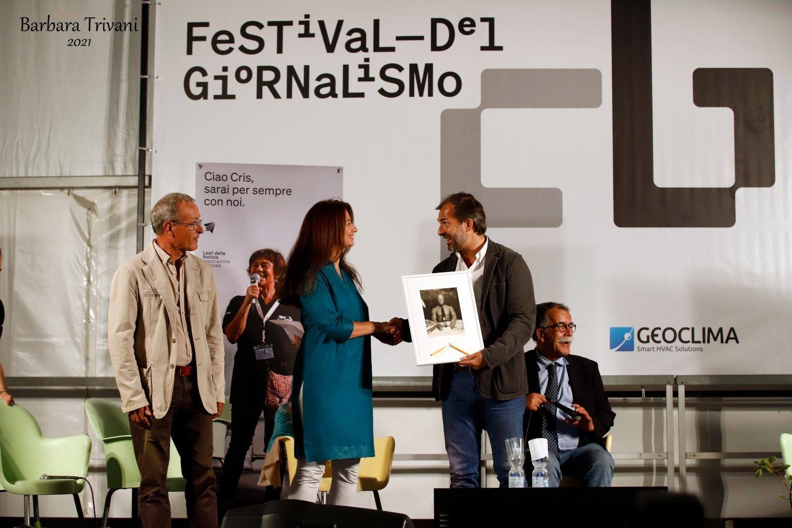 Fabio Rinaldi, Corinne Vella, Paolo Berizzi e Sandro Ruotolo