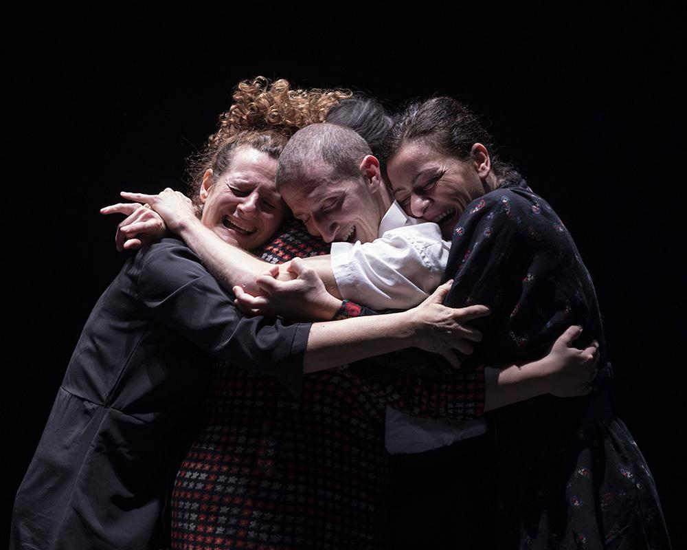 Misericordia: da sinistra Carroccio, Saffi, Zambelli, Lo Sicco (ph. © Masiar Pasquali)