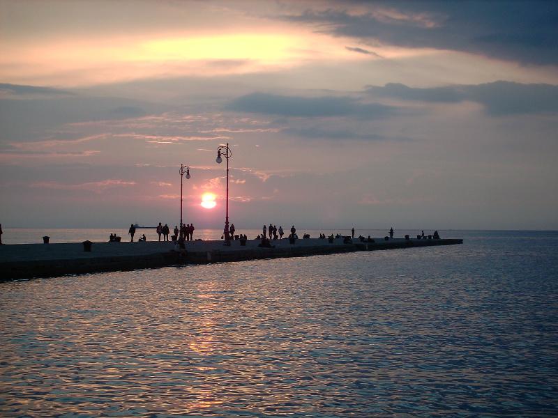 Il Molo Audace a Trieste