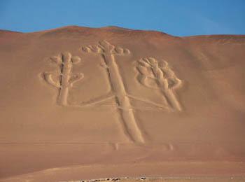 Altri esempi di geoglifi di Nazca (ph. C. Pizzin)