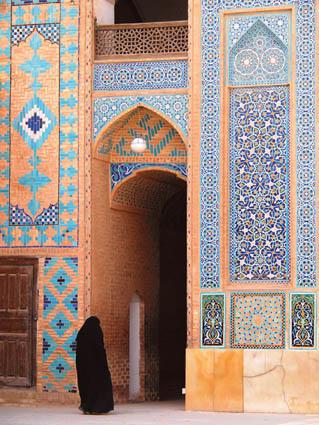 Istantanea da Yazd, Iran (ph. Luciana Mandruzzato)