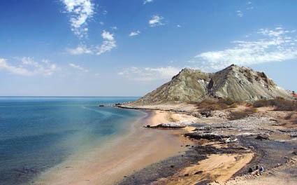 Veduta dell'isola di Hormuz