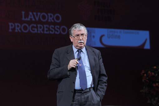 L'intervento di Gian Antonio Stella (foto Petrussi)