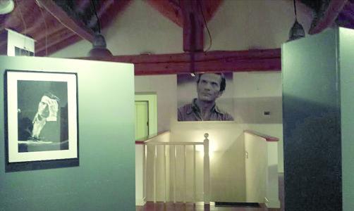L'interno della mostra allestita a Casarsa della Delizia (ph. L. Battaglia)