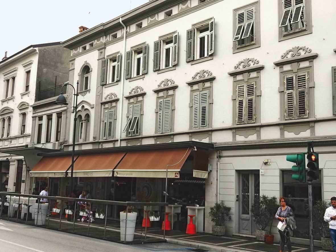 Il Caffé Carducci a Monfalcone