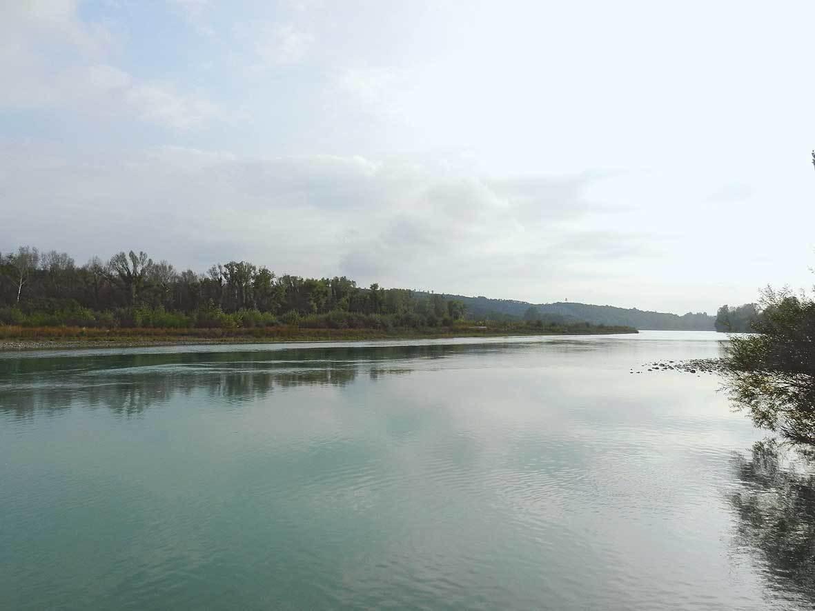 L'Isonzo a Gradisca